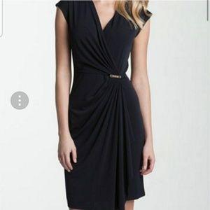 NWT Michael Kors Navy Wrap Dress